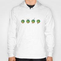 ninja turtles Hoodies featuring Ninja Turtles by East Atlantic Design