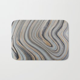 Marbled Bath Mat