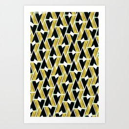 WTU PATTERN PRINT 4 Art Print