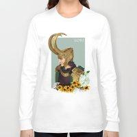 loki Long Sleeve T-shirts featuring Loki by tsunami-sand