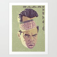 inception Art Prints featuring INCEPTION by Mike Wrobel