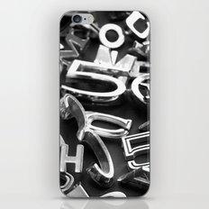 Vehicle Type iPhone & iPod Skin