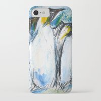 penguins iPhone & iPod Cases featuring Penguins by James Peart