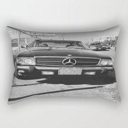 Parking Lot Benz Rectangular Pillow
