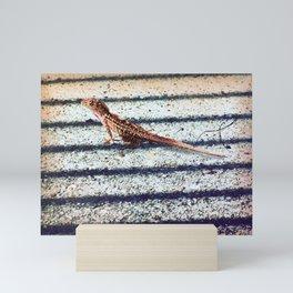 The Lizard Mini Art Print