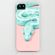 Snake Green iPhone SE Slim Case
