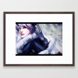 The Meaning of Hero Framed Art Print