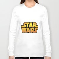 starwars Long Sleeve T-shirts featuring StarWars by Camorrista