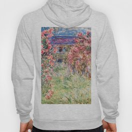 "Claude Monet ""House among the Roses"", 1917 - 1919 Hoody"