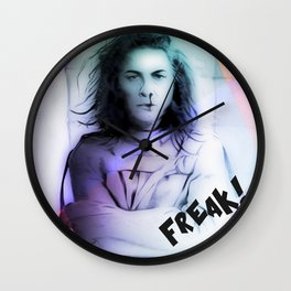 Padded Cell FREAK! Wall Clock