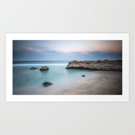 calm read sea Art Print