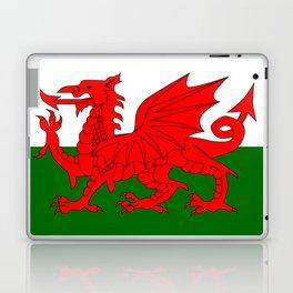 Welsh Dragon Flag Laptop & iPad Skin