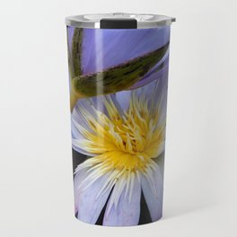 Water lilies in the garden Travel Mug