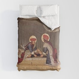 Fra Angelico - The Healing of Justinian by Saint Cosmas and Saint Damian Comforters
