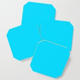 Neon Blue Coaster