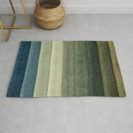 Simple Fabric Texture Rug