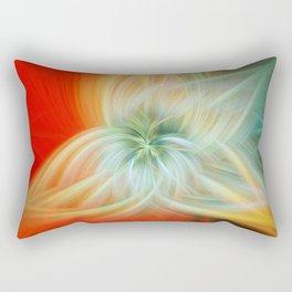 Energy Blossom Rectangular Pillow