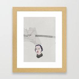 Me and my polygon Framed Art Print