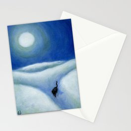 Moonshadow Stationery Cards