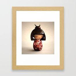 Kokeshi 02 Framed Art Print