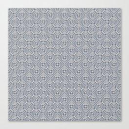 Silver Truchet Tilling Canvas Print