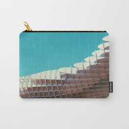 Parasol modern architectural photography Carry-All Pouch