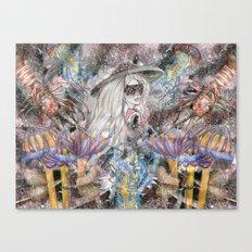 Poseidon's Inter-Dimension  Canvas Print