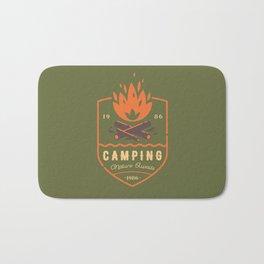 Fire - Camping Bath Mat