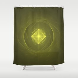 Gazing into the Eye of the Pyramid Shower Curtain