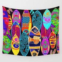 Hang Ten Surfboards Wall Tapestry