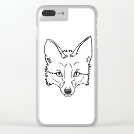 The Original Fox Clear iPhone Case