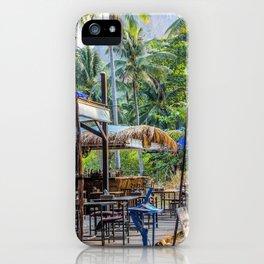 Thailand Tiki Bar iPhone Case