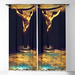 Dali - Christ of Saint John of the Cross 1951 - Artwork Reproduction Blackout Curtain