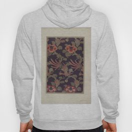 Verneuil - Japanese paper and fabric designs (1913) - 37: Birds and camellias Hoody