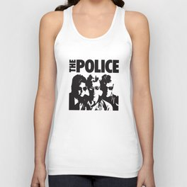 Vintage Music The Police t-shirts Unisex Tank Top