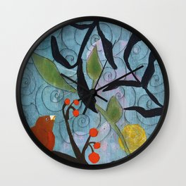 Little Nemo Bird  Wall Clock