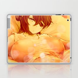 Laying on the Bed Laptop & iPad Skin