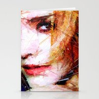 emma watson Stationery Cards featuring Emma Watson by Raditya Giga