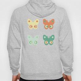Pastel butteflies Hoody