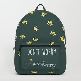 Don't Worry, Bee Happy Backpack