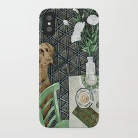labrador iPhone & iPod Cases featuring Geometry Labrador by Yuliya