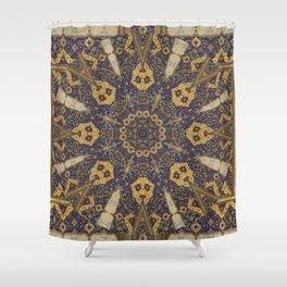 Mandala - The Night Bazaar Shower Curtain