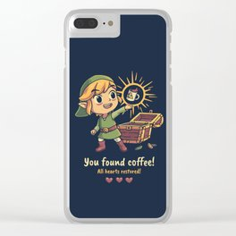 The Legendary Coffee Clear iPhone Case