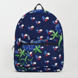 Texas Bluebonnets Texan Lone star state Backpack