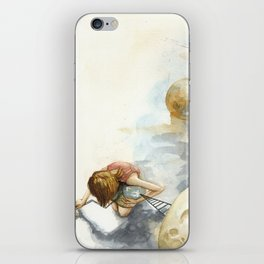 Little Girl from Earth 3 iPhone Skin