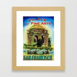 San Francisco Palace of Fine Arts Framed Art Print