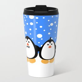 NGWINI - penguin family v3 Metal Travel Mug
