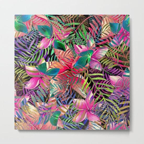 My Tropical Garden 2 Metal Print