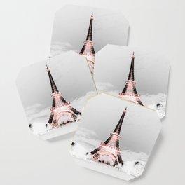 pariS Black & White + Pink copyright 2sweet4wordsDesigns Coaster