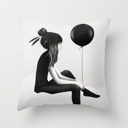 No Such Thing As Nothing Throw Pillow